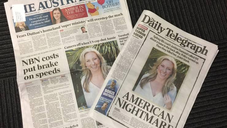 So berichten zwei Australische Zeitungen über den Fall.