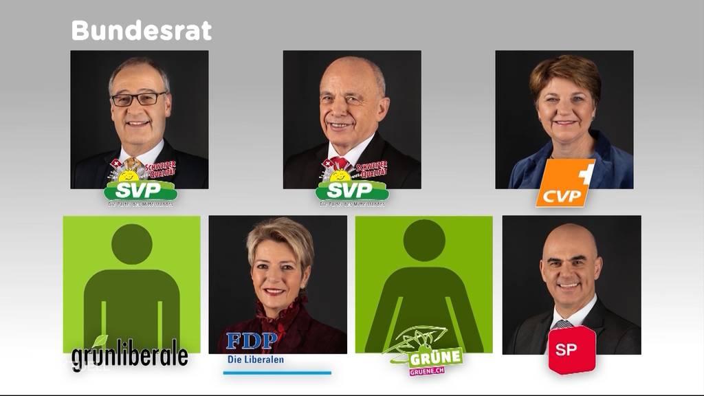 Blocher setzt sich für grünen Bundesrat ein