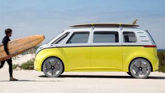 Teil der Elektro-Strategie von Volkswagen: der Bus I.D. Buzz. HO