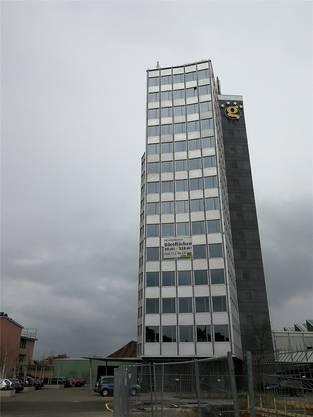 Das «Loco» befindet sich ganz oben im Hochhaus.