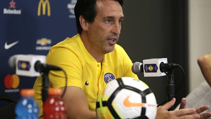 Holte mit Paris Saint-Germain den siebten Supercup-Sieg: Coach Unai Emery
