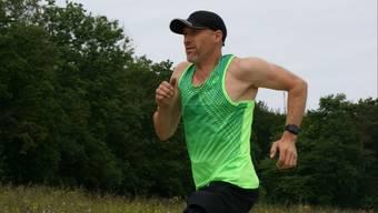 «Ich fühle mich sehr gut»: Ultraläufer SImon Schmid ist froh, dass der Startschuss zum SwissUltraRun bald fällt.