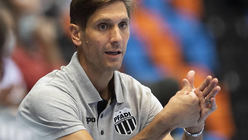 Adrian Brüngger führte Pfadi zum ersten Sieg in einem Playoff-Finalspiel gegen die Kadetten überhaupt
