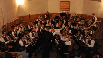 Die MG Messen beim Eröffnungsstück «Festmusik der Stadt Wien».
