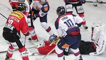 Reto Berra hielt seinen Kasten gegen die Slowaken sauber.