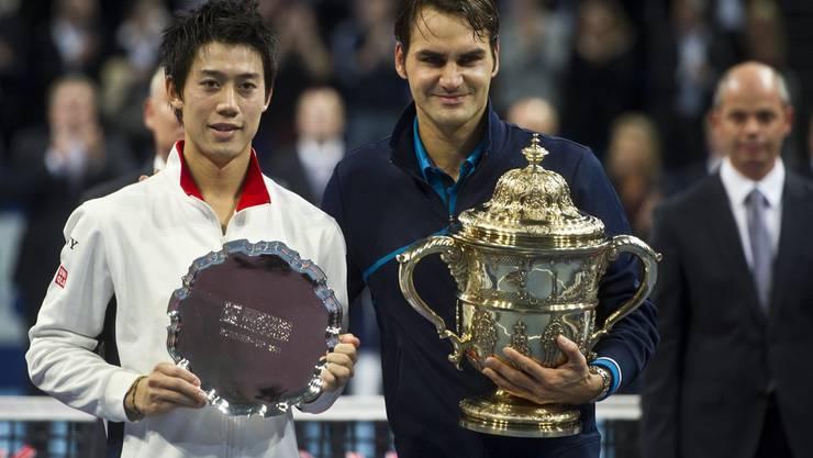 Roger Federer gewinnt zum 5. Mal die Swiss Indoors in Basel.