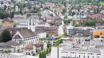 Der Bezirkshauptort Dietikon ist im vergangenen Jahr nur um sieben Einwohner gewachsen. (Archiv)
