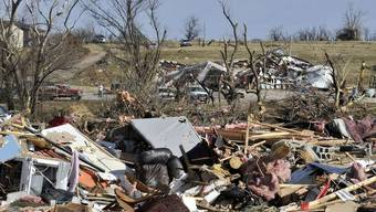 Zerstörte Häuser in Cincinnati