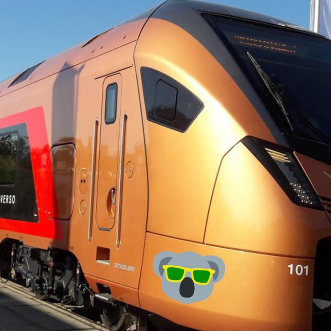 So sieht der neue Zug aus, der über die Gotthard-Panoramastrecke fährt