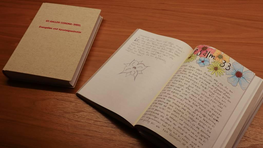 Die St.Galler Corona-Bibel ist online