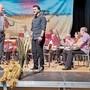 Präsident Hans Urs Zwicky (links) begrüsste den neuen Dirigenten Gabor Nemeti (Mitte) und verabschiedete Christian Schweizer.