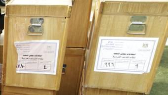Wahlurnen in Ägypten (Archiv)