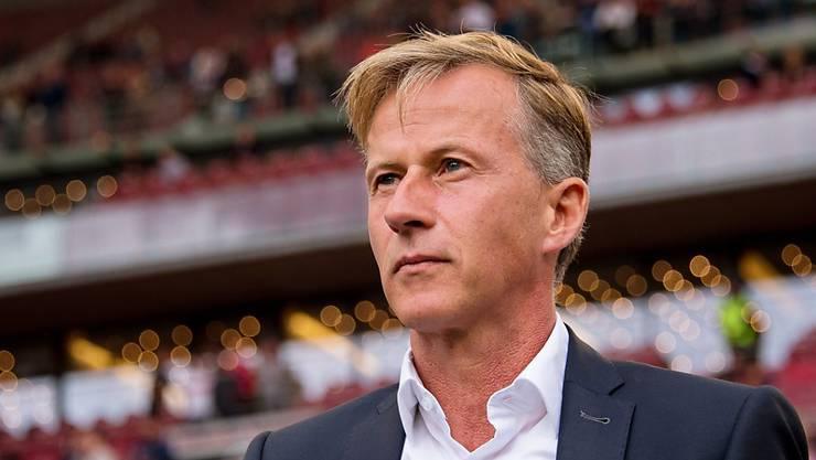Andries Jonker ist als Trainer von Wolfsburg entlassen worden