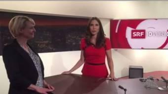 Susanne Wille erklärt auf ihrem Facebook-Konto, dass die Sendung nicht stattfindet. Bundesratskandidatin Isabelle Moret muss unverrichteter Dinge wieder nach Hause fahren.