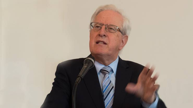 Pfarrer Dr. Armin Mauerhofer in seinen Ausführungen