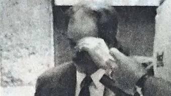 H.S.  1996 auf dem Weg zum Solothurner Obergericht. Er wurde lebenslänglich verurteilt. Doch 2011 kam er frei, da er als nicht mehr gefährlich eingestuft wurde.