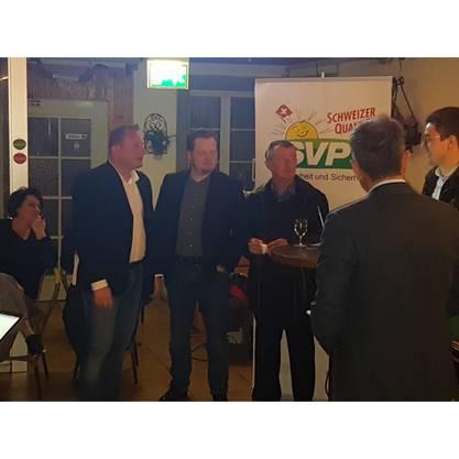 (v. links) Thomas von Arx, remo von Arx, Nino Tonsa und Michal Plocica