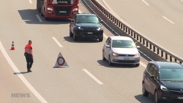 Töfffahrer auf A1 verunfallt