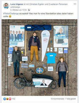 FDP Basel-Stadt setzt im Wahlkampf verstärkt auf Facebook.