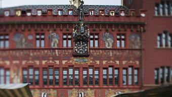 Das Rathaus in Basel (Archiv)
