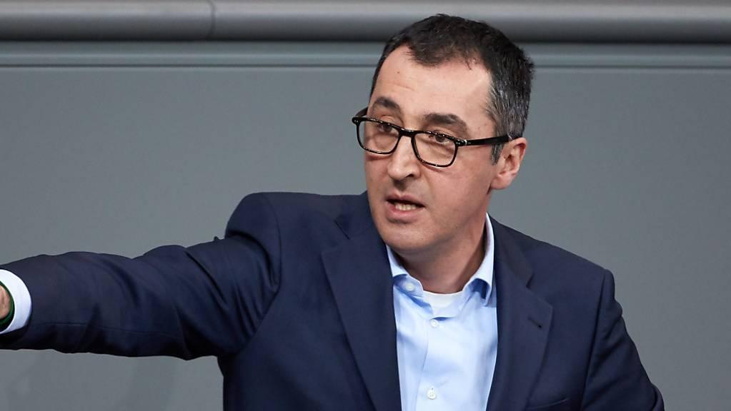 Will wieder in die erste Reihe zurück, als Fraktionschef der Grünen im Bundestag: Cem Özdemir.