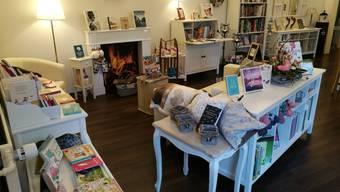 Wohnen in der Buchhandlung
