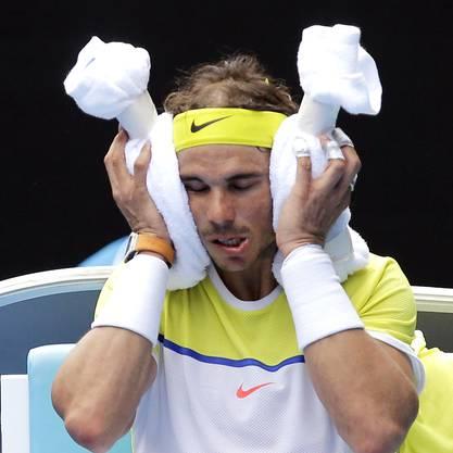 Im vierten Satz fehlten Nadal bloss noch zwei Punkte zum Sieg - 40 Minuten später hatte er verloren