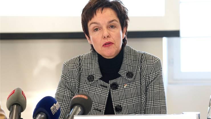 Monica Gschwind will mit der Besetzung des Baselbieter Kulturchefs noch warten.