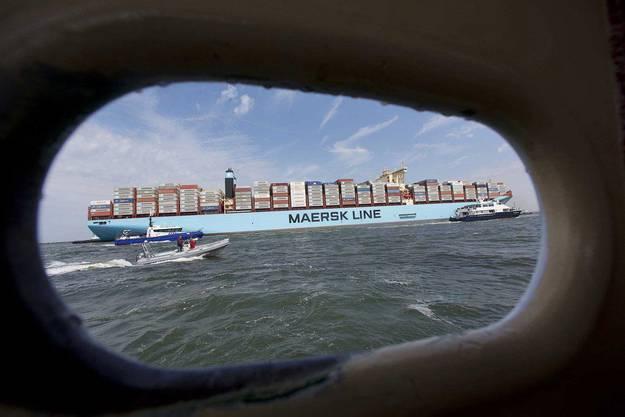 Die «Maersk Mc-Kinney Møller»  trägt ihren Namen des legendären Firmenchefs, der letztes Jahr fast 100-jährigt gestorben ist.