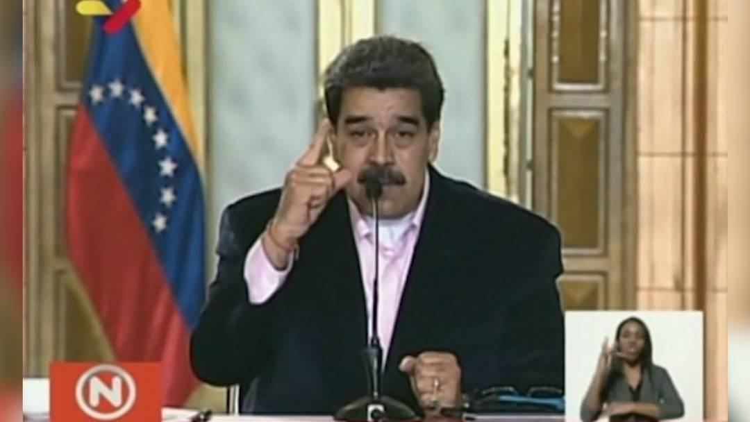 """Venezolanischer Staatschef: """"Du bist ein Widerling, Donald Trump!"""""""