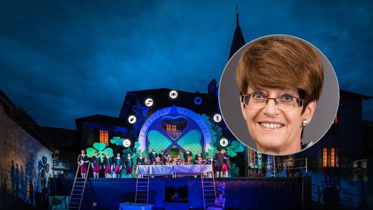 «Hallwyl strahlt über den Kanton hinaus», sagt Esther Egger, Präsidentin der Oper Schloss Hallwyl.