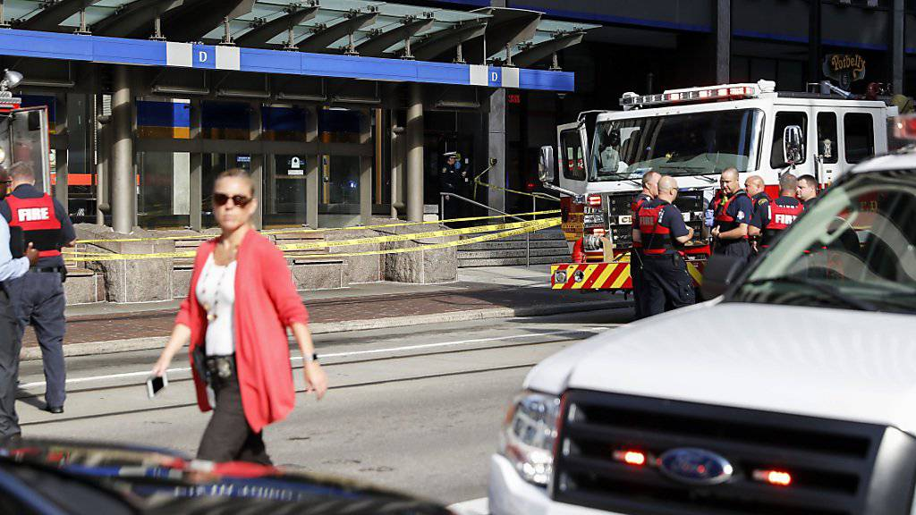 Bei einer Schiesserei in einer Bank von Cincinnati sind vier Menschen getötet worden, darunter der Angreifer.