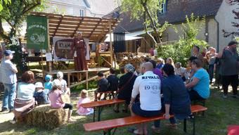 Zweites Mittelalterfest in Rheinfelden