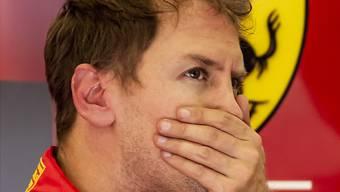 Nachdenklich: Sebastian Vettel.