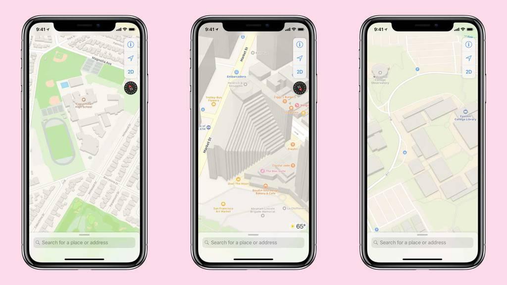 Vernetzt: Apple will seine Karten deutlich verbessern