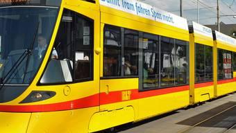 Das BLT Tram hatte Vortritt.
