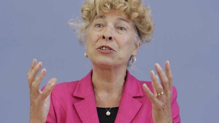 Die frühere Kandidatin für das Amt der Bundespräsidentin, Gesine Schwan (im Bild), ist zur Kandidatur für den SPD-Vorsitz bereit. Auch eine Doppelspitze mit Juso-Chef Kevin Kühnert könnte sie sich vorstellen. (Archivbild)