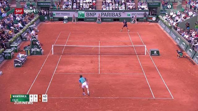 Tennis: Wawrinka siegt