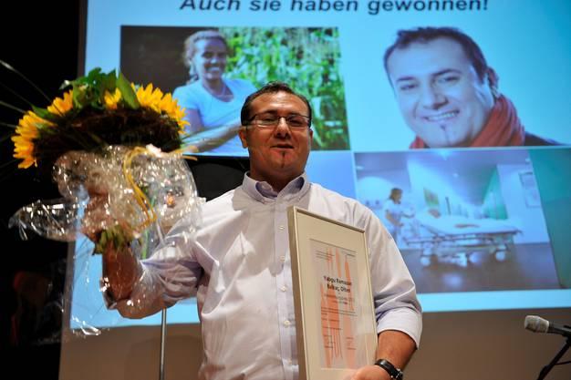 Yagbu Ramazan Balkaç aus Olten und die Vigier Beton Mittelland erhielten ebenfalls Anerkennungspreise.