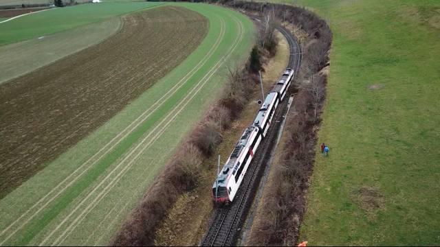 Erdrutsch lässt Zug in Lommiswil entgleisen