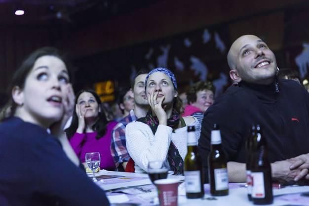 Das Publikum kommt auf seine Kosten