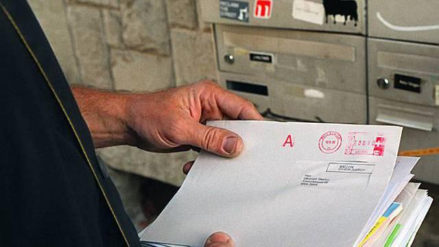 20 Millionen Briefe wurden täglich über die Festtage verschickt (Archiv)