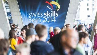 Bei den Berufsmeisterschaften SwissSkills 2014 gab es mehr als 5000 Besucher.