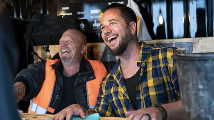 «Viele können davon profitieren»: Gölä und Trauffer, ein eingespieltes Duo.