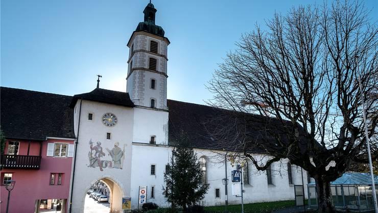 Die Kirche St. Katharina ist eine der wichtigsten Barockkirchen des Kantons.
