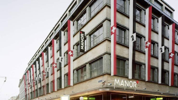 Hauptsitz der Manor in Basel.