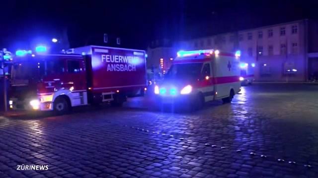 Ansbach: Erster IS-Anschlag in Deutschland
