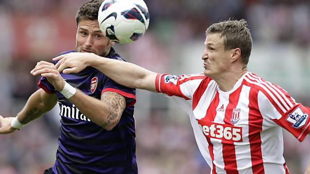 Kein Sieger zwischen Arsenal und Stoke City