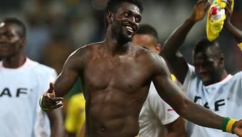 Togo und Emmanuel Adebayor haben den Viertelfinal erreicht.