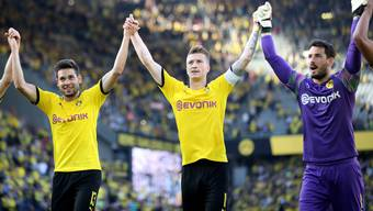 Können Bürki (rechts) und seine Teamkollegen auch gegen Barcelona jubeln?